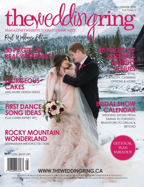 The Wedding Ring Magazine ONTARIO Fall/Winter 2019