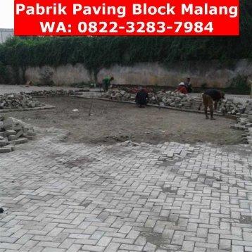 0822-3283-7984 (Telkomsel), Pabrik Paving Block Di Malang, Jual Paving Block Di Malang