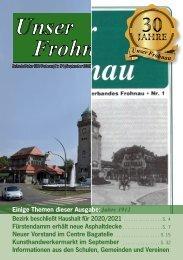 Unser Frohnau 94 (September 2019)