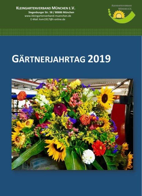 Gärtnerjahrtag 2019