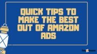 How to Make the Most Out of Amazon Ads