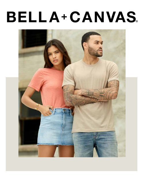 Bella & Canvas Catalogue
