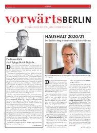 vorwärts Berlin 04-2019