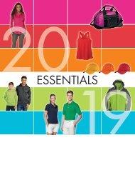 Entity Brands Essentials 2019 Catalogue