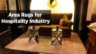 Area Rugs For Hospitality Industry