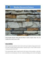 Global Roofing Materials Market