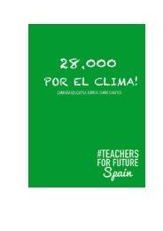 CAMPAÑA TEACHERS FOR FUTURE 2019-2020