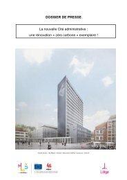 La nouvelle Cité administrative : une rénovation