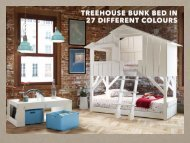 Treehouse Bed in a choice of colours