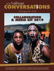 South African Conversations Collaboration & Media Kit 2019