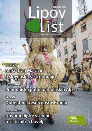 Revija Lipov list, februar 2019