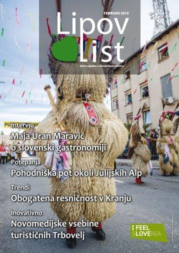 Revija Lipov list, februar 2019
