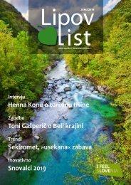 Revija Lipov list, junij 2019