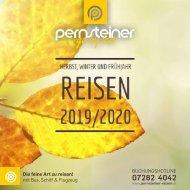 Neuer Reisekatalog - Herbst, Winter und Frühjahr Reisen 2019/2020
