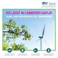 Windenergie und Naturschutz