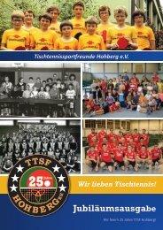 25 Jahre TTSF Hohberg (Jubiläumsheft)