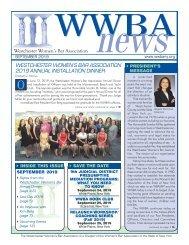 WWBA September 2019 Newsletter