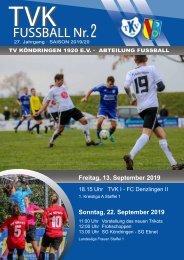 TVK-FUSSBALL  Nr.2  19/20