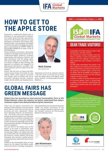 IFA International 2019 Day 5 Edition