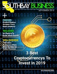Southbay Business Magazine September 2019