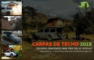 VIVECAMPERS - CATALOGO CARPAS DE TECHO 2019