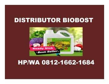 HP/WA 0812-1662-1684 Aplikasi Bioboost Pada Padi Pekanbaru