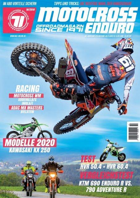 Motocross Enduro Ausgabe 10/2019