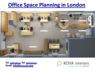 Office Space Planning in London