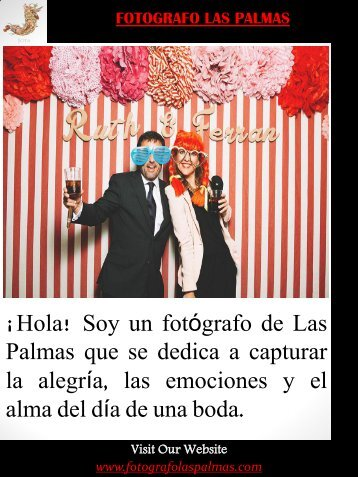 Fotografo Las Palmas