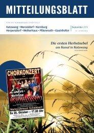 Nürnberg-Katzwang-Worzeldorf-Kornburg-Herpersdorf-September 2019