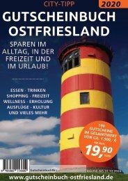 Gutscheinbuch 2020 Ostfriesland