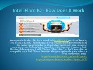 IntelliFlare IQ - Pros And Cons,Buy Now