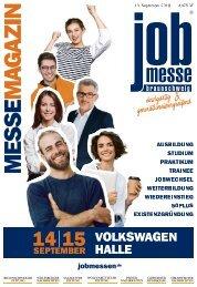 Das MesseMagazin zur 4. jobmesse braunschweig