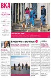 Berner Kulturagenda N°36