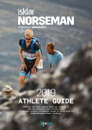 Norseman Athlete Guide 2019