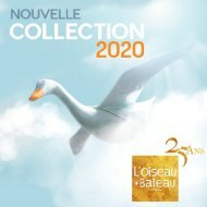 Catalogue L'Oiseau Bateau Collection 2020