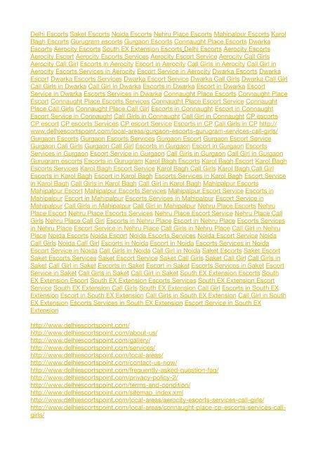 Escort PDF for Yumpu