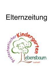 Elternzeitung Kita Lebensbaum Lustadt   09-2019