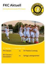 FKC Aktuell - 07. Spieltag - Saison 2019/2020