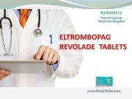 Buy Revolade 50mg Tablet | 印度Eltrombopag价格 | Indian Revolade Wholesale Price Supplier