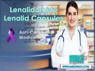 Buy Lenalid 10mg Capsules | Lenalidomide 10mg Price in India | Generic Lenalidomide Wholesaler (来那度胺批发商)