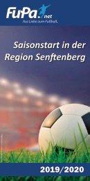 FuPa Magazin Region Senftenberg 2019