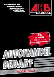 AHB Autohandelbedarf Katalog 2020
