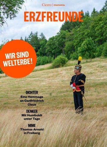 ERZFREUNDE – Das Sachsen-Sonderheft zum Welterbe Erzgebirge