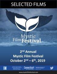 2019 MYSTIC FILM FESTIVAL Film Slate