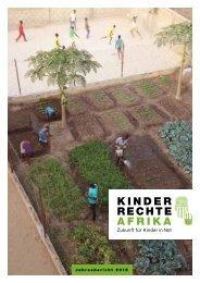 Jahresbericht 2016 - Kinderrechte Afrika e. V.