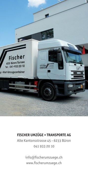 Flyer Fischer Umzuege