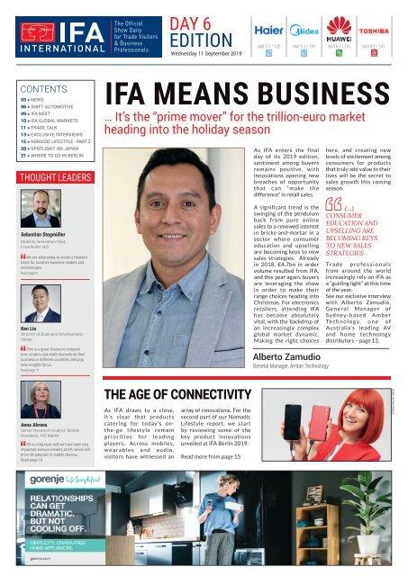 IFA International 2019 Day 6 Edition