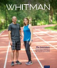 Whitman Magazine Fall 2019