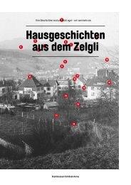 Hausgeschichten aus dem Zelgli - Stadtmuseum Schlössli Aarau